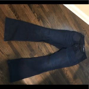 Old navy size 4 maternity flared jeans